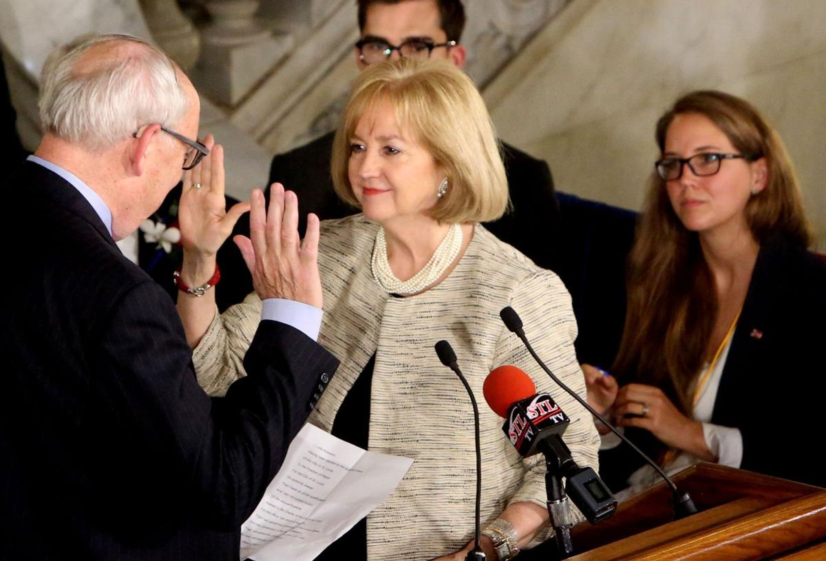 Krewson sworn in as St. Louis' 46th and first female mayor