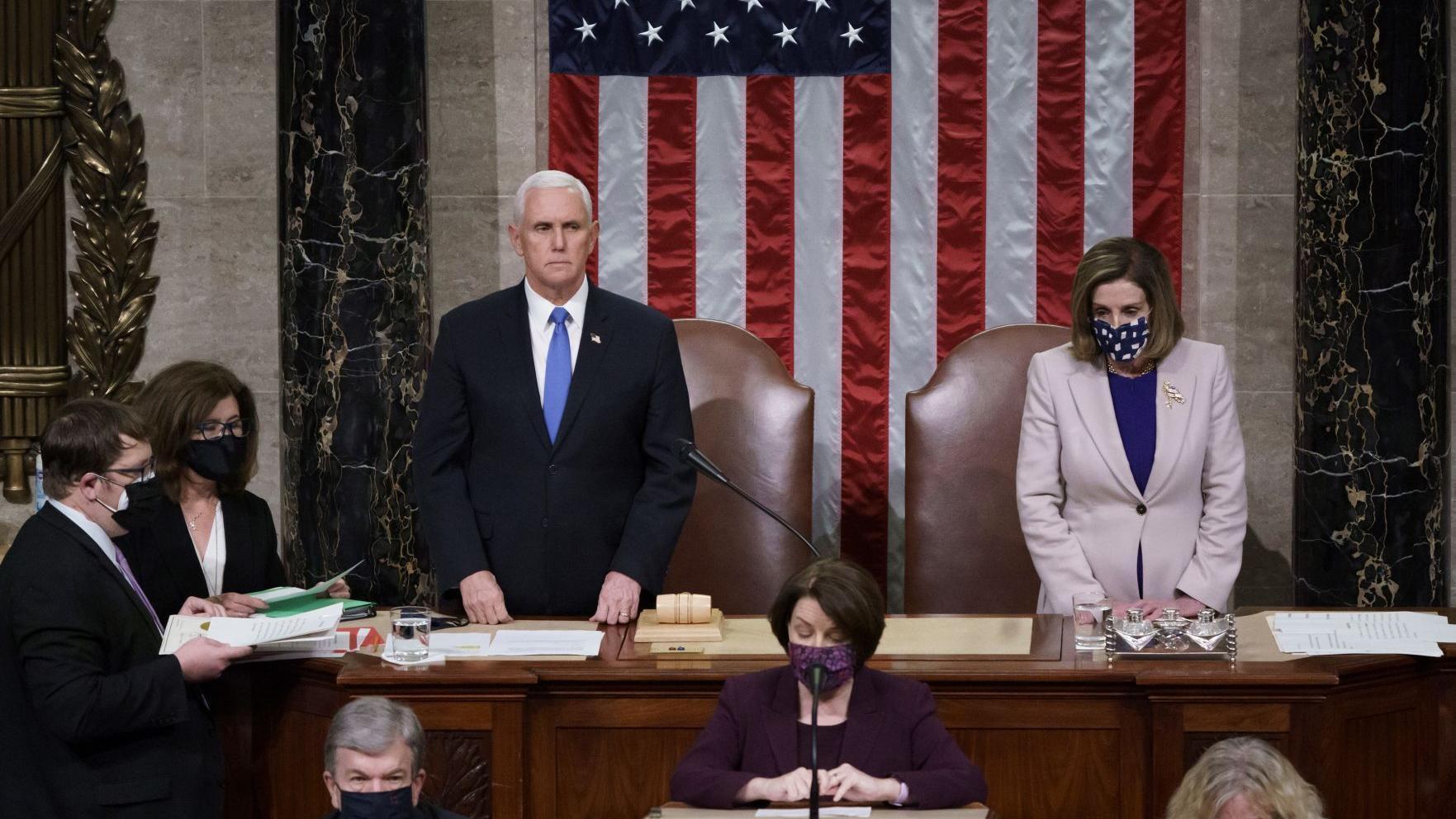 Biden win confirmed after pro-Trump mob storms U.S. Capitol