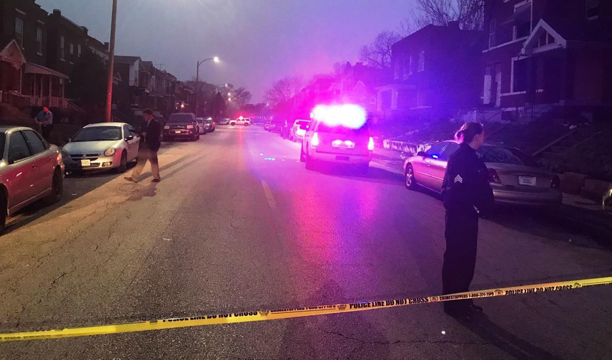 Shooting in 4700 St. Louis Avenue