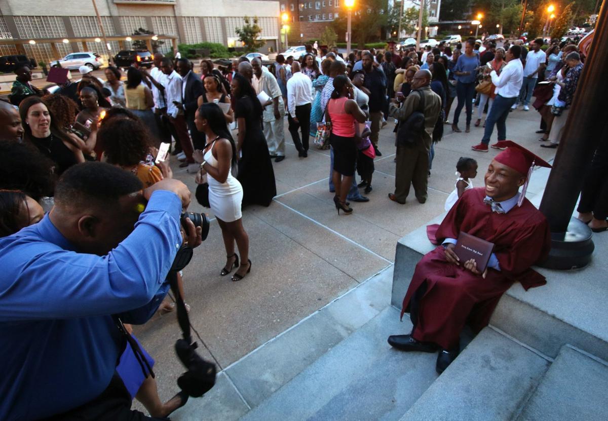 Brandon Gardner graduates from Trinity Catholic