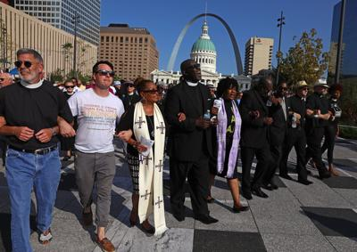 Clergy march for peace & justice