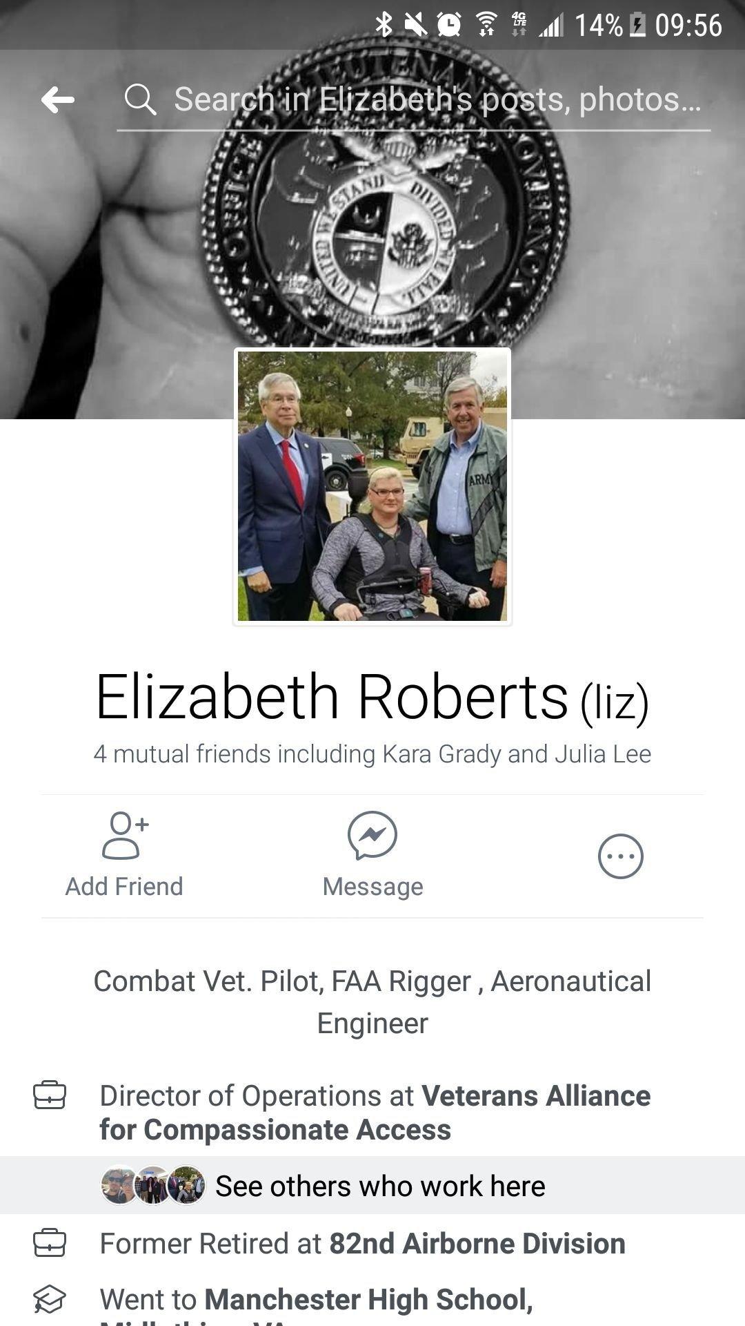 Liz Roberts Facebook
