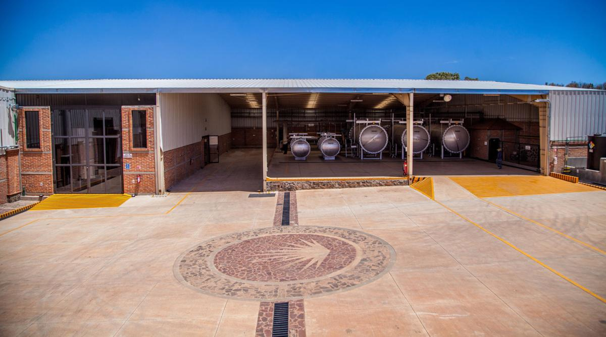 Luxco's new tequila distillery