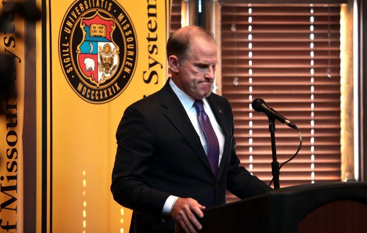 Wolfe resigns as Missouri president