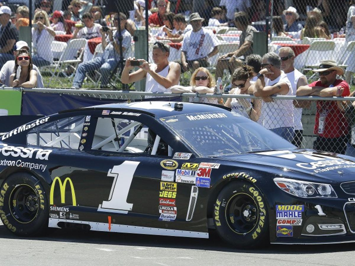 McMurray surprisingly wins pole at Sonoma | Sports | stltoday com