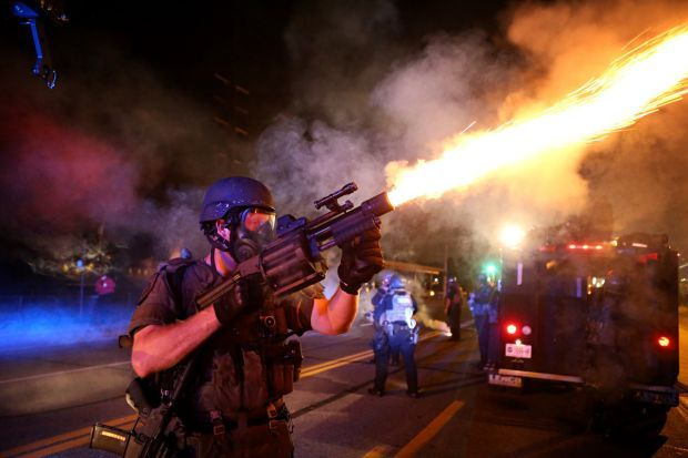 St. Louis County Police tactical team