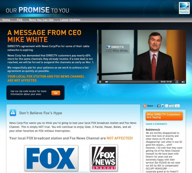 DirecTV Subscribers Worried Of Losing KMOV, Fox Cable