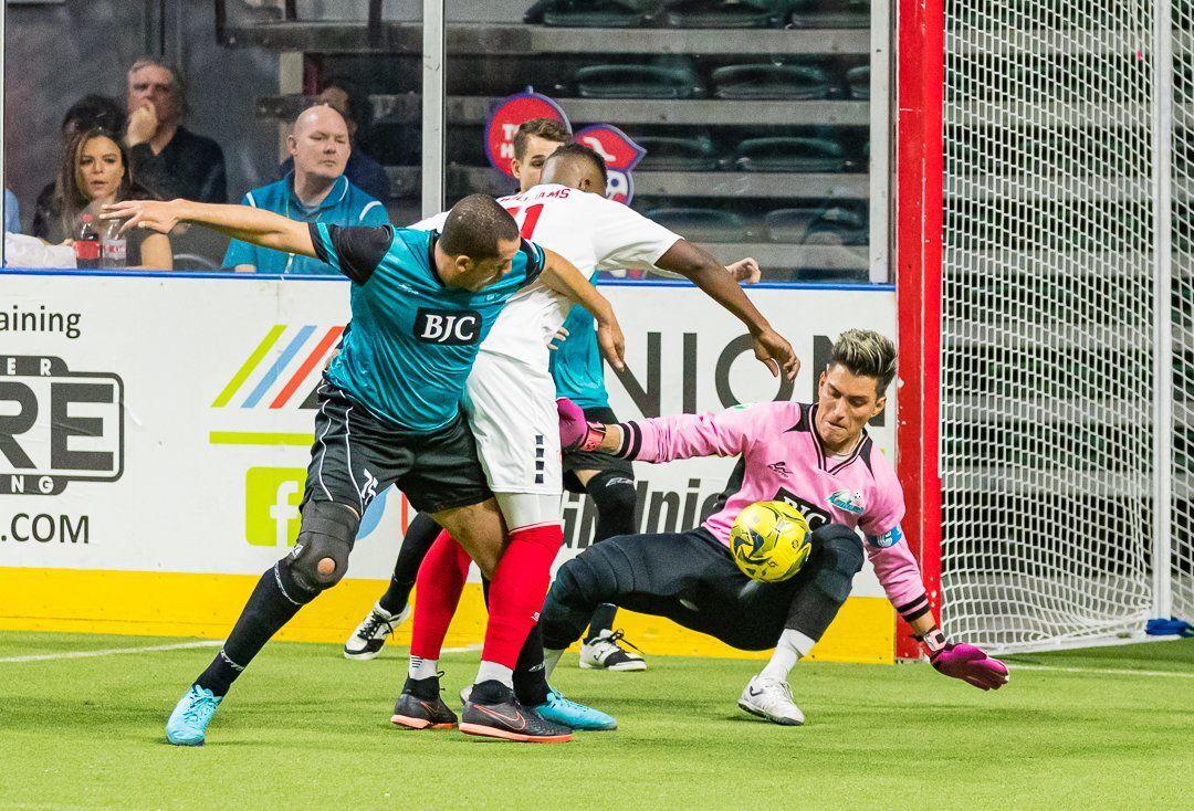 Ambush goalkeeper Paulo Nascimento