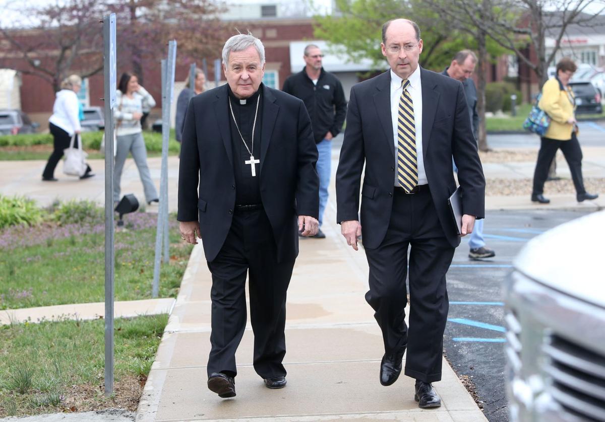 "St. Louis Archbishop Carlson attends Lincon County civil trial for priest Rev. Xiu Hui ""Joseph"" Jiang"