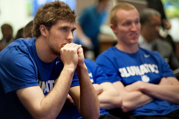 SLU NCAA men's basketball bracket party