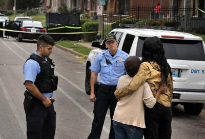 Man and woman found dead of gunshot wounds inside car in Fountain Park neighborhood