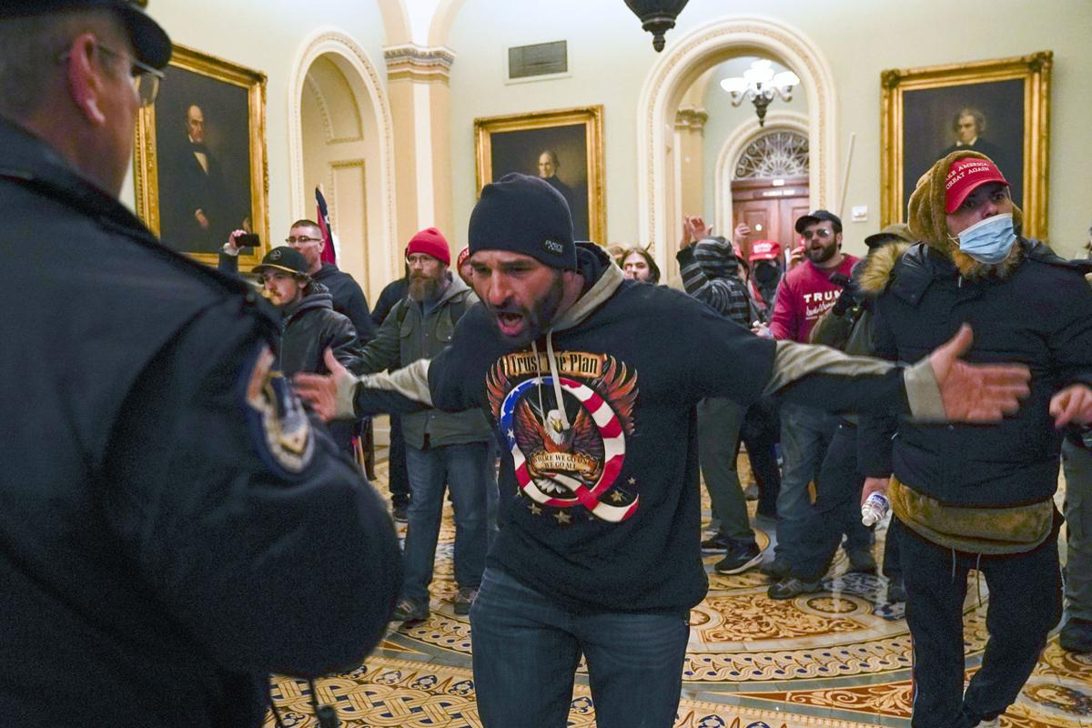 Protesters breach the Capitol