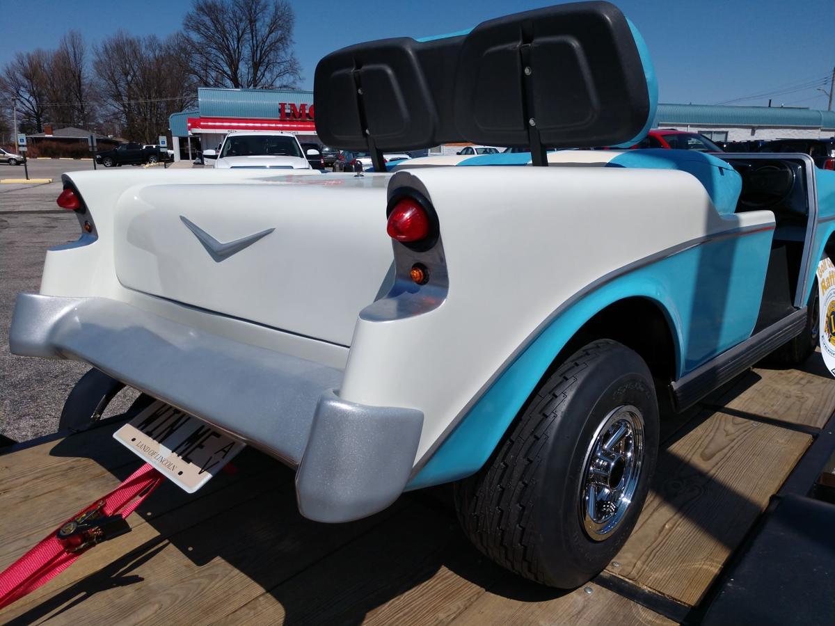 A 50s Chevy golf cart | Automotive | stltoday com