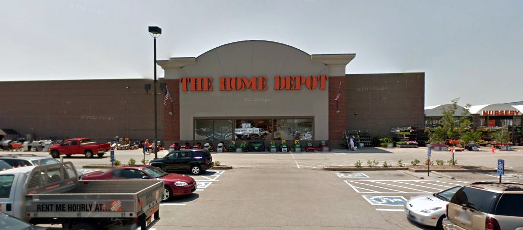 home depot lake in the hills