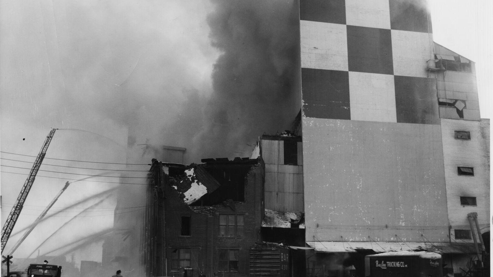A look back • An  explosion in bitter cold headlined a tragic day for St. Louis fire department