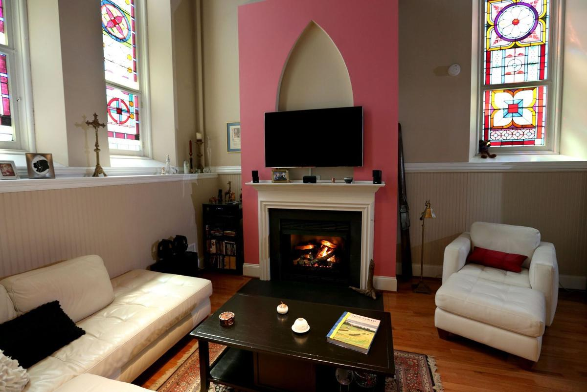 lafayette square home was once a church choir loft is now their