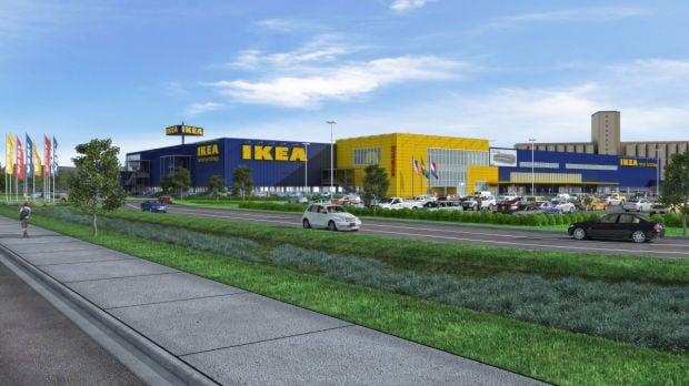 Ikea store rendering