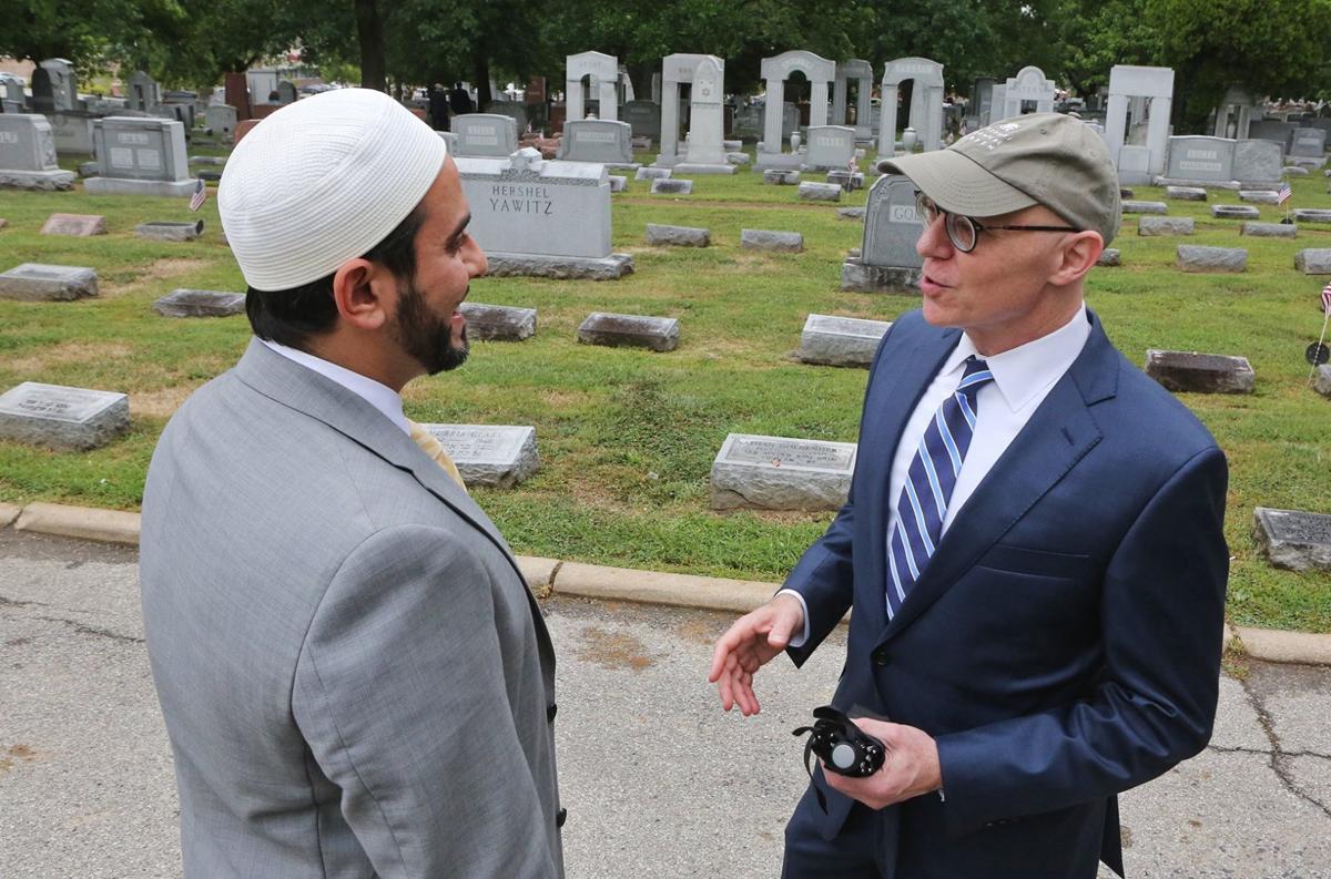 Jewish Cemetery is Rededicated after Vandalism