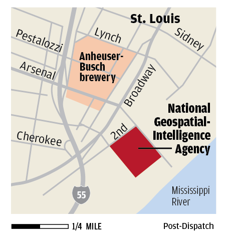 Government intelligence agency plans new facility in St Louis area