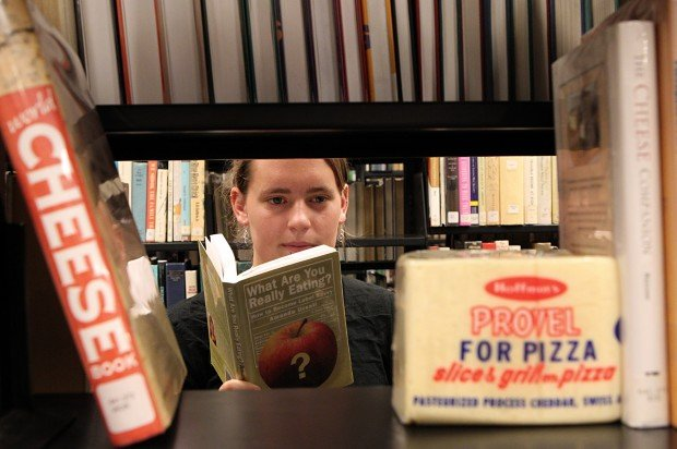 Caitlin Heim researched the history of Provel cheese
