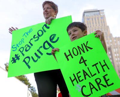 Health care advocates protest Missouri's Medicaid purge