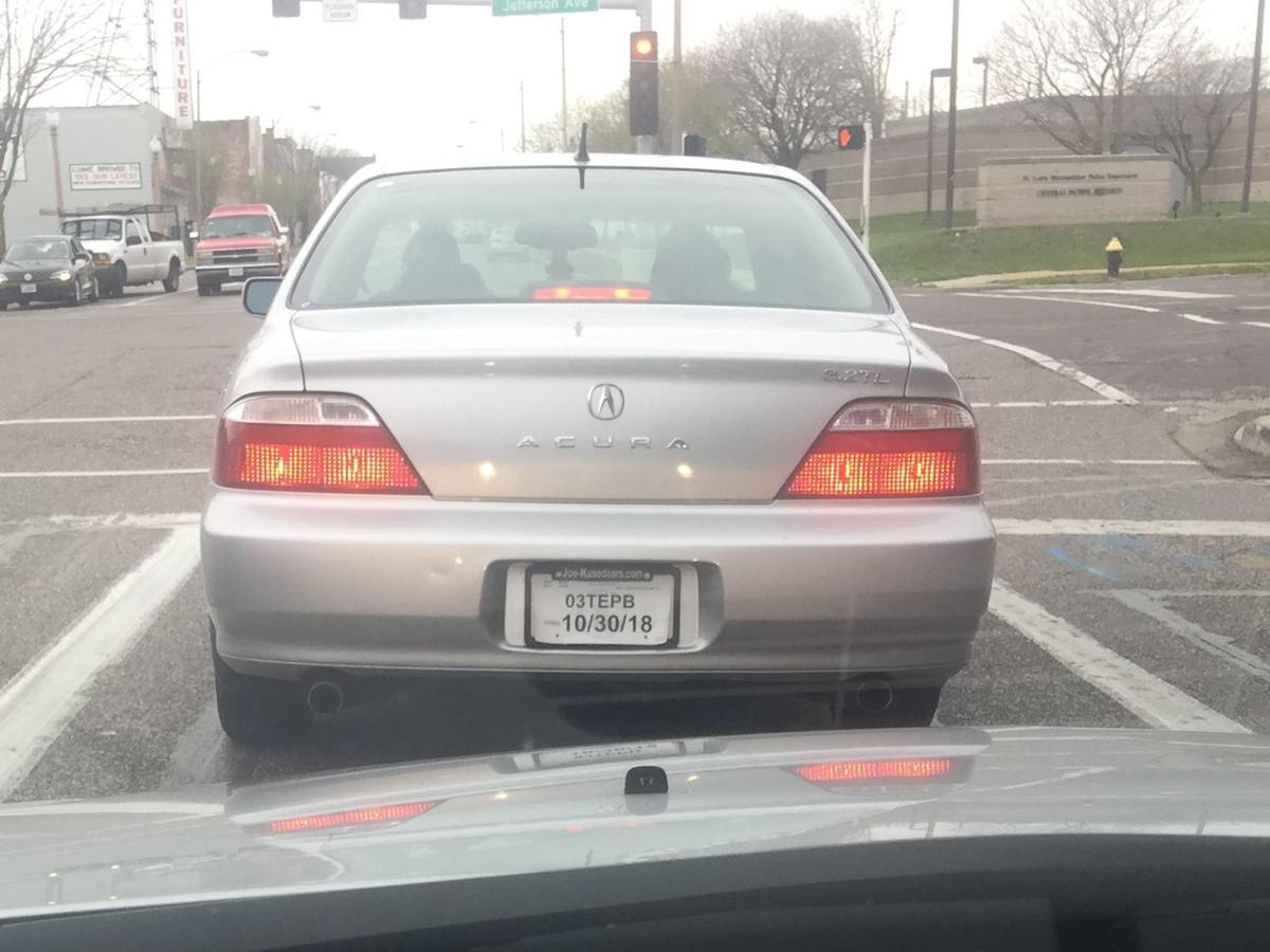 What's with all those expired license tags in St  Louis?   Law and