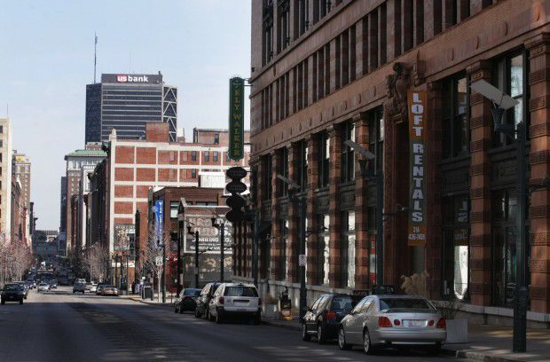 Ely Walker Building In Downtown St. Louis
