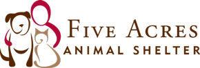 Five Acres Animal Shelter logo