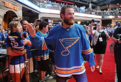 Blues get the faithful excited at Ballpark Village