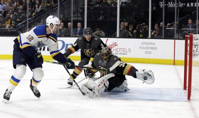 Blues Golden Knights Hockey