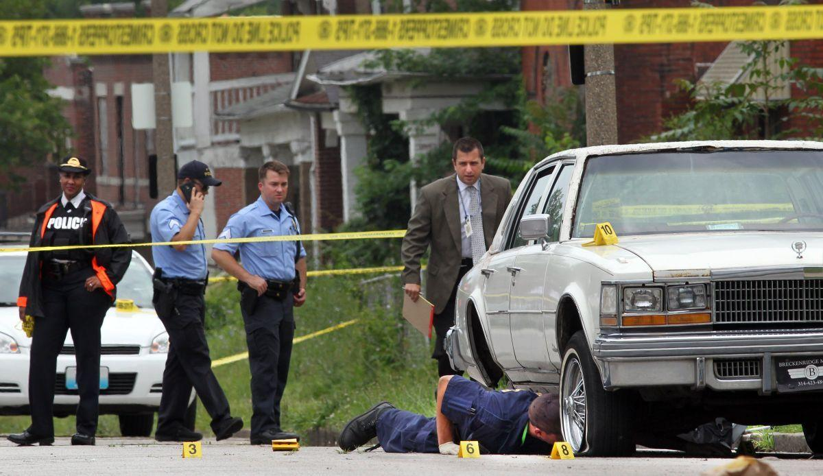 One dead in double shooting in north St. Louis