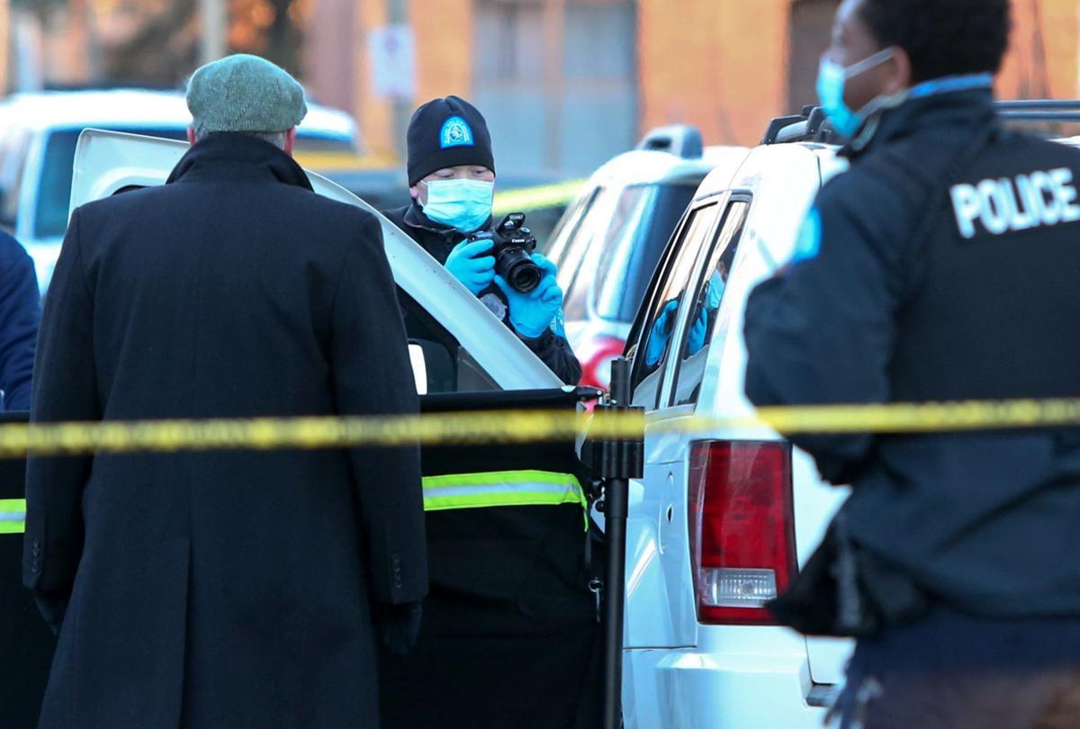 Two men found dead on the 4500 block of Aldine Avenue