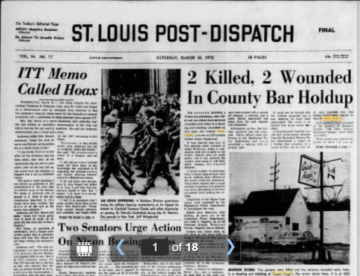 post dispatch march 18 1972