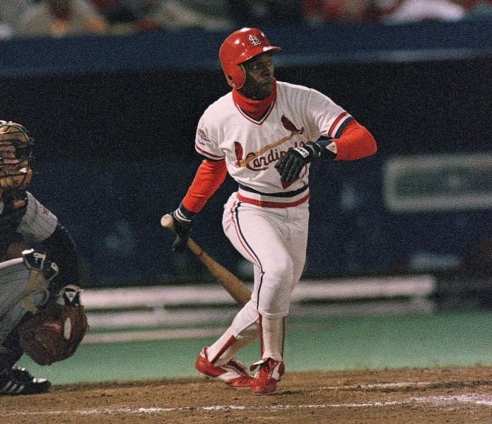 Curt Ford in 1987 World Series