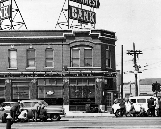 Look Back: Southwest Bank Robbery, 1953