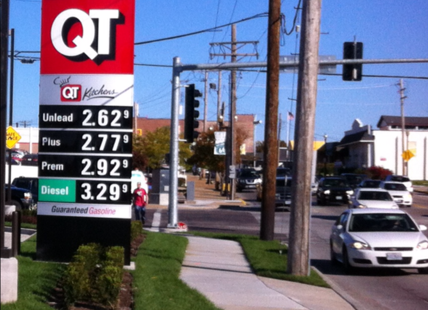 Gas Prices St Louis >> Local Gasoline Prices Tumble To Lowest Point Since 2010