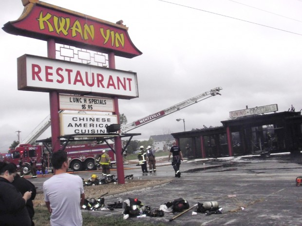Forty Years Of Work Go Up In Smoke At Wentzville Restaurant