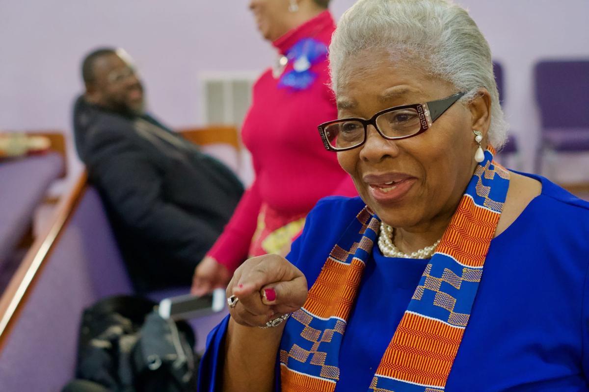 Joyce Elliott at Union Baptist Church