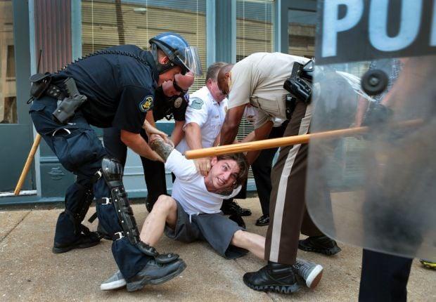 Protests, arrests in Ferguson