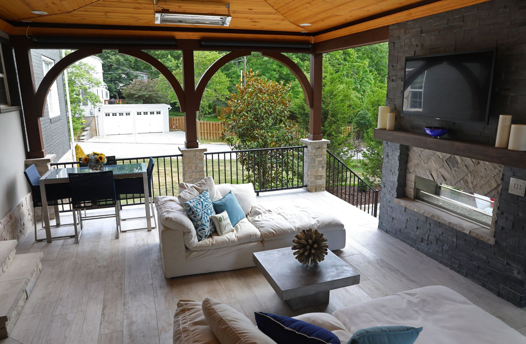 outdoor living rooms amazing large outdoor living ideas outdoor