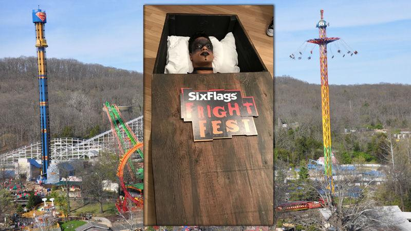 Coffin Challenge At Six Flags St Louis Gets 28000 Plus Entries Goes National Metro Stltoday Com