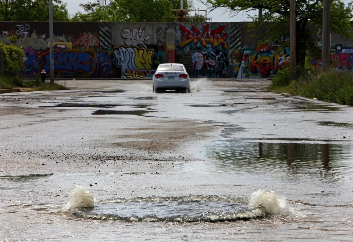 More rainfall delays relief from high water