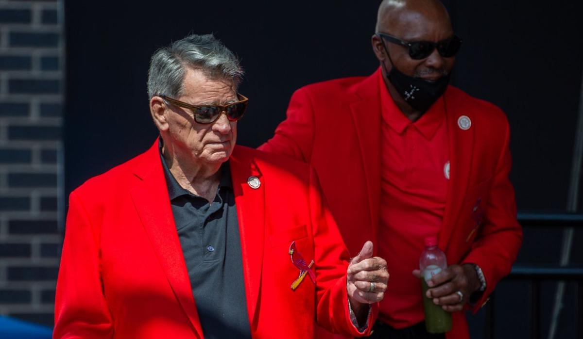 Cardinals Hall of Fame induction ceremony
