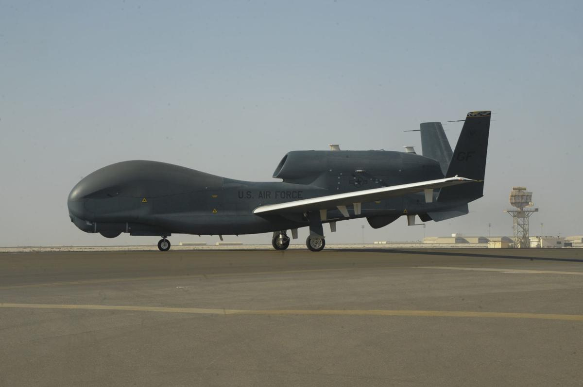 RQ-4 Global Hawk drone - kind Iran shot down