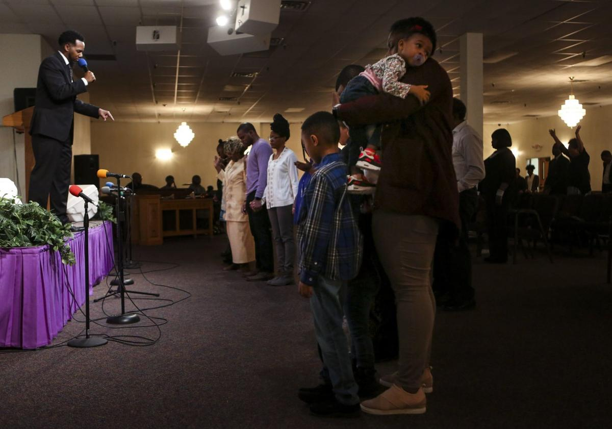Pastor Calls for an End to Gun Violence