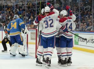 Spiel wird auf fluke Ziel als Blues verlieren Canadiens