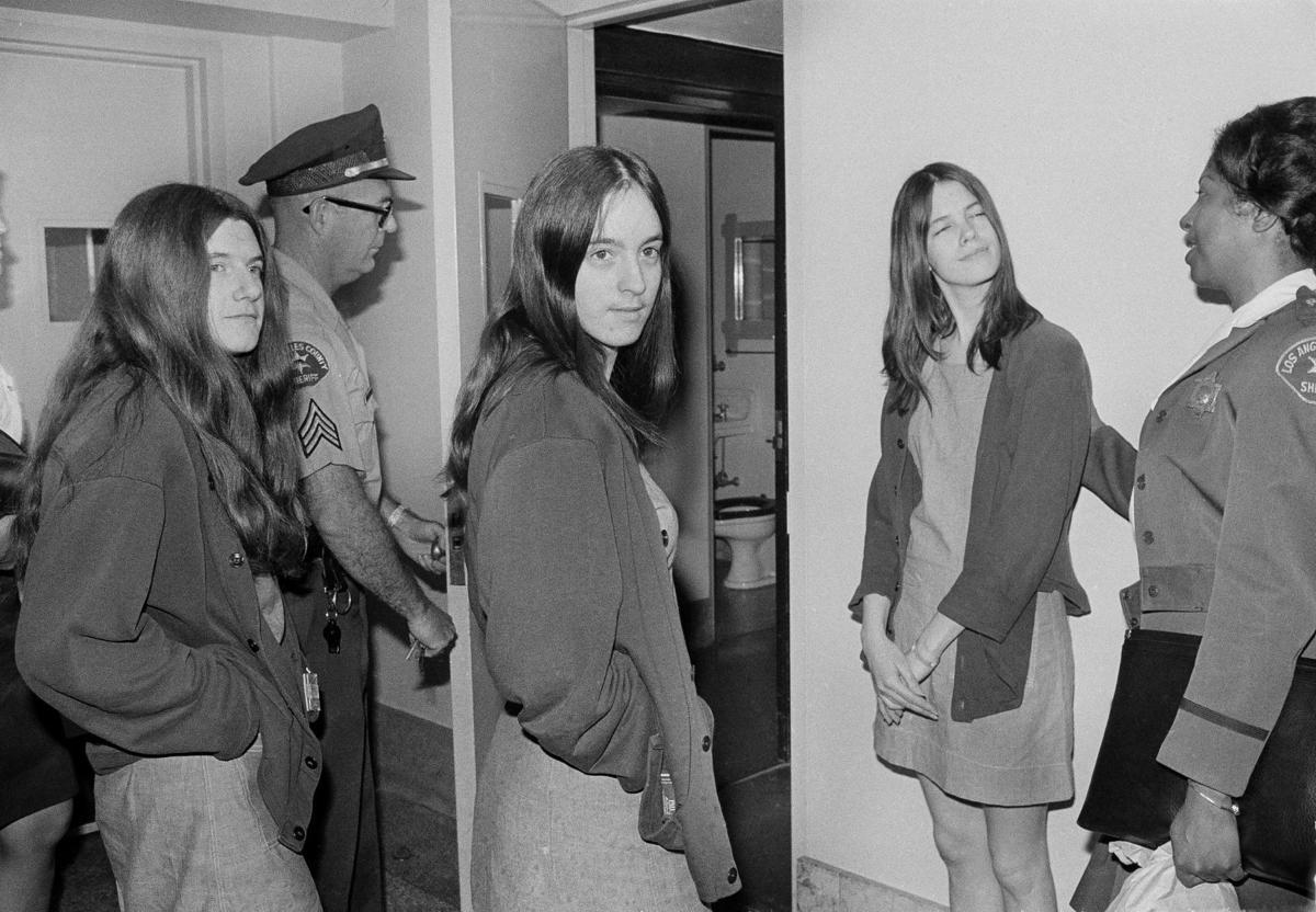1979: Leslie Van Houten, Susan Atkins, Patricia Krenwinkel