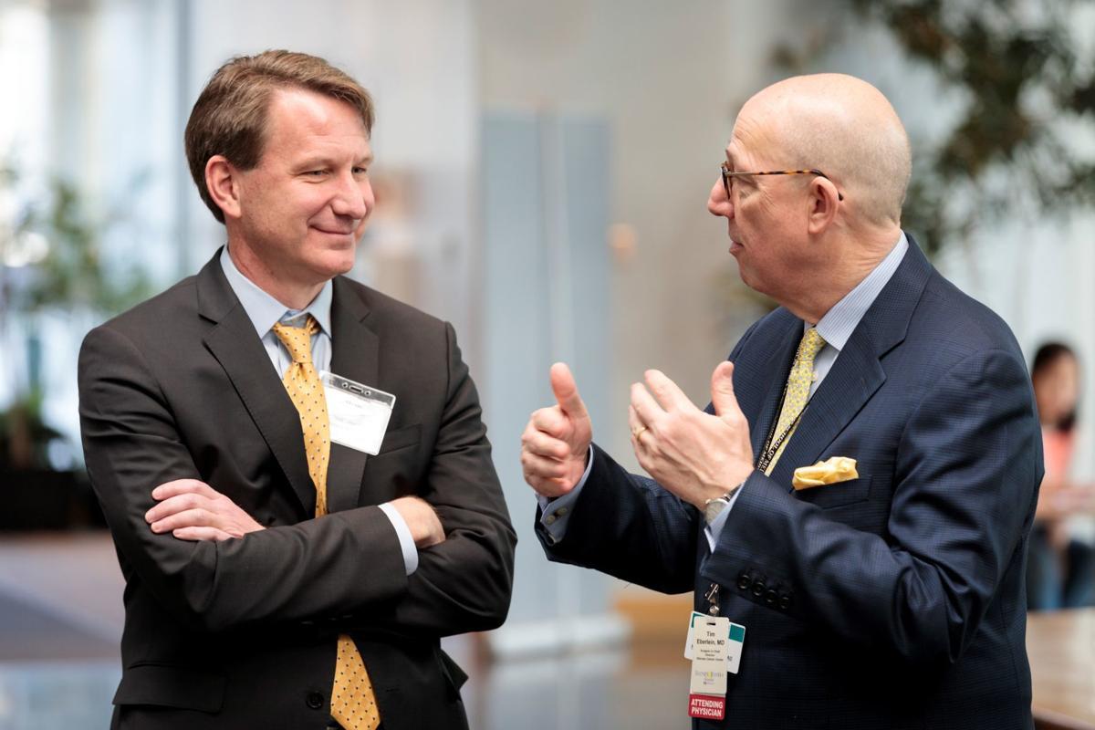 Drs. Norman Sharpless and Timothy Eberlein
