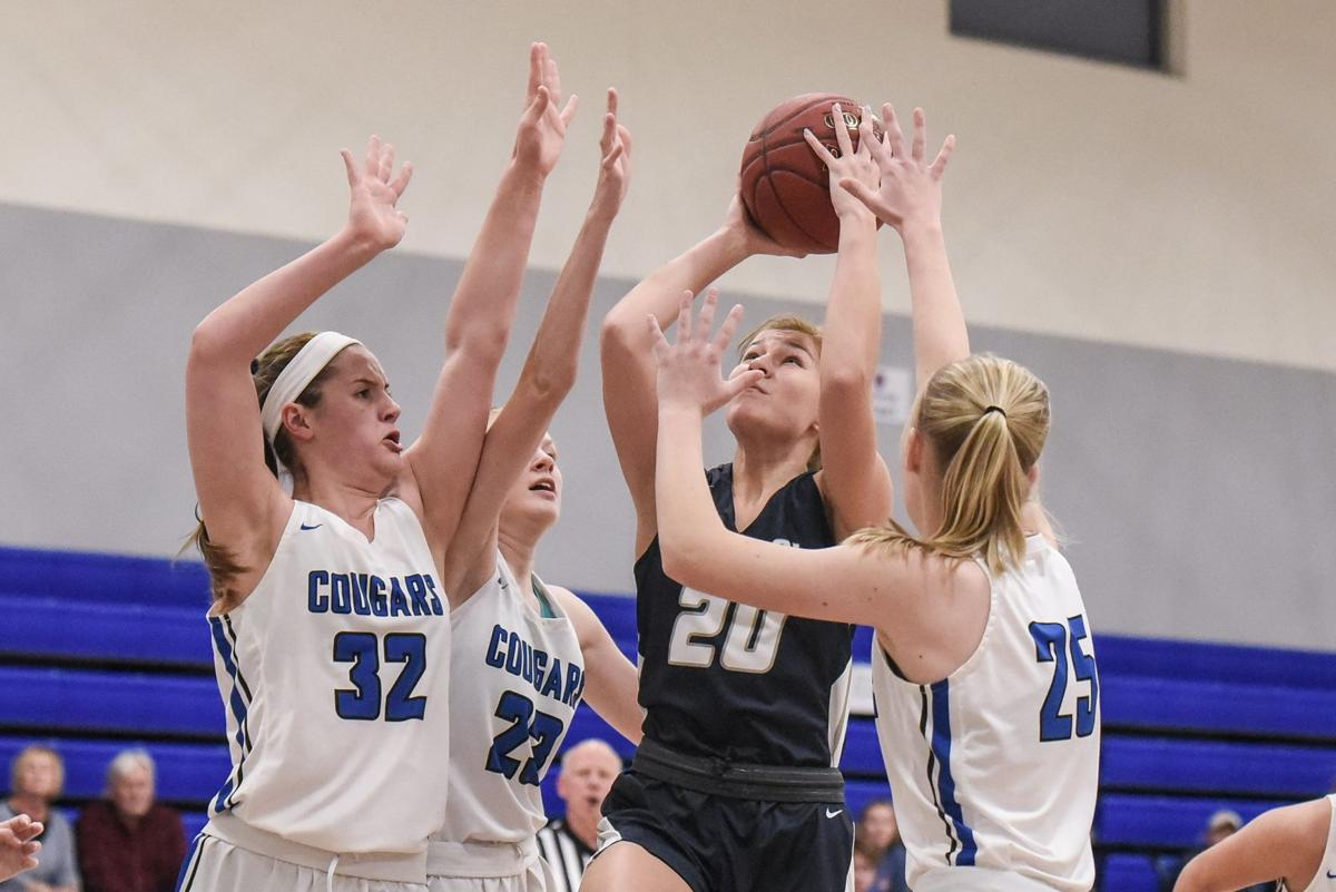 12/6/19 - Girls Basketball - Francis Howell Central at Lutheran St. Charles