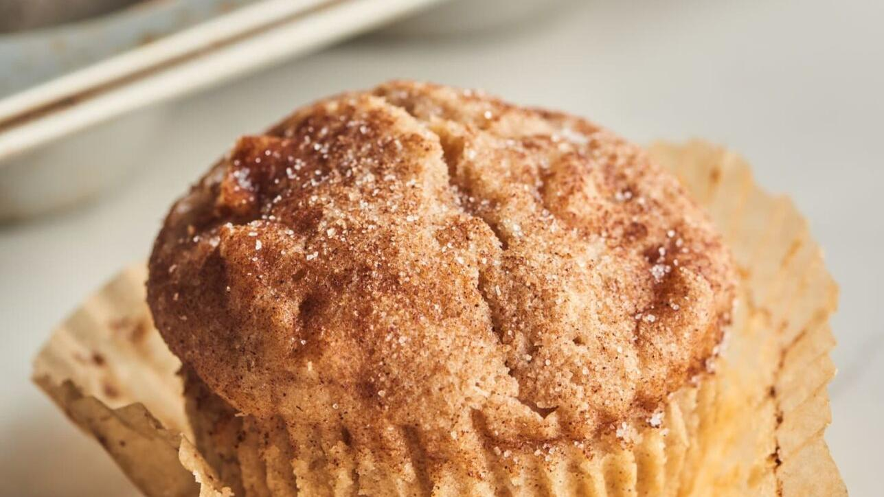 The Kitchn: Treat your family to a batch of cozy apple muffins